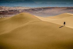 Atmosphere in the dunes