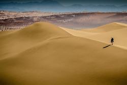 Atmosphère dans les dunes