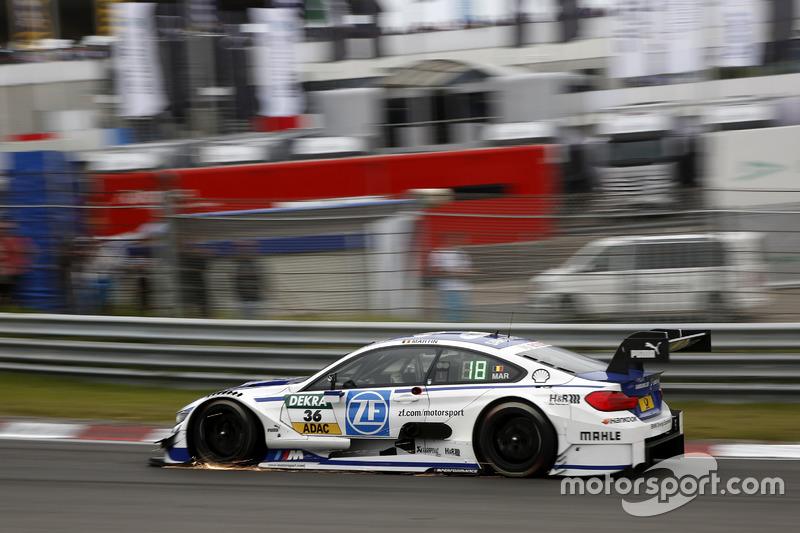 Maxime Martin, BMW Team RBM, BMW M4 DTM (ausgefallen)