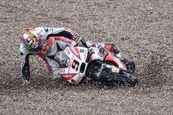 Chute de Danilo Petrucci, Pramac Racing