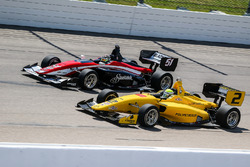 Shelby Blackstock, Andretti Autosport; Juan Piedrahita, Team Pelfrey