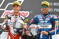 Podium: ganador, Khairul Idham Pawi, Honda Team Asia, tercero, Enea Bastianini, Gresini Racing