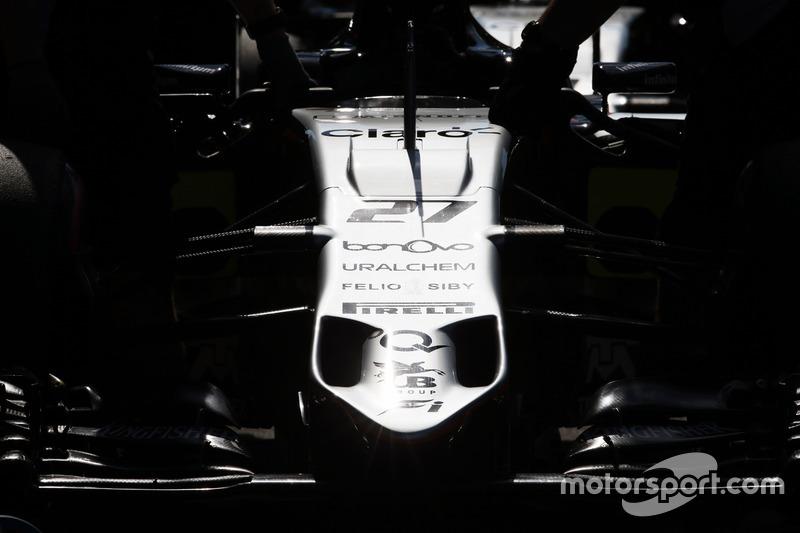 Sahara Force India F1 VJM09 of Nico Hulkenberg,