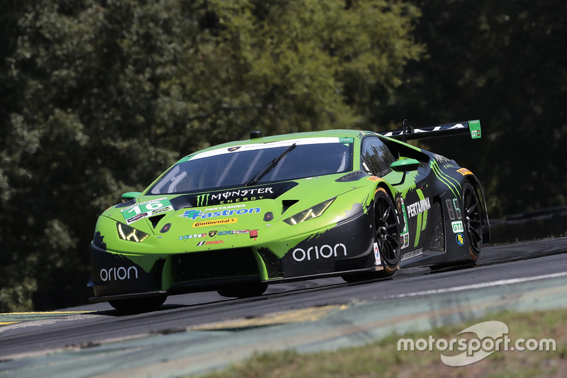 #16 Change Racing Lamborghini Huracan GT3: Spencer Pumpelly, Corey Lewis
