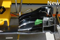 Le nouvel aileron avant Renault Sport F1 Team
