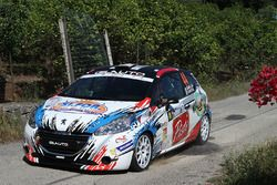 Alessandro Casella, Gaetano Caputo, Peugeot 208 VTI R R2B, CST Sport
