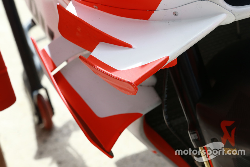 Detail winglet Ducati Team
