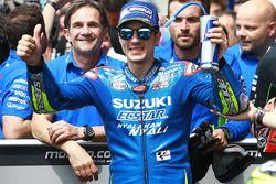 Tercer clasificado Maverick Viñales, Team Suzuki MotoGP