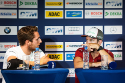 Press Conference: Daniel Juncadella, Mercedes-AMG Team HWA, Mercedes-AMG C63 DTM and Mike Rockenfeller, Audi Sport Team Phoenix, Audi RS 5 DTM