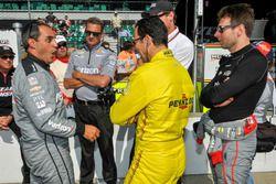 Juan Pablo Montoya, Team Penske Chevrolet, Helio Castroneves, Team Penske Chevrolet, Will Power, Tea