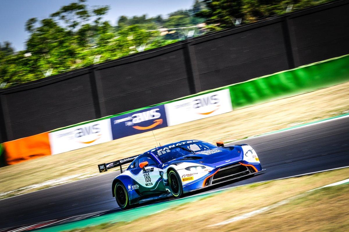 #188 Garage 59 Aston Martin Vantage AMR GT3: Alexander West, Jonny Adam