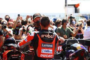 Ganador Michael Ruben Rinaldi, Aruba.It Racing - Ducati, Jonathan Rea, Kawasaki Racing Team WorldSBK