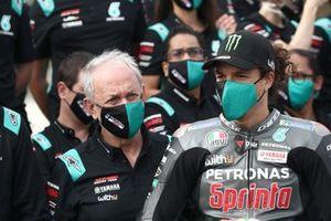 Franco Morbidelli, Petronas Yamaha SRT, mit Ramon Forcada