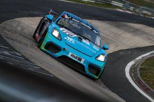 #178 Porsche Cayman GT4: Dennis Fetzer, Nicolaj Møller Madsen