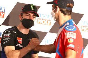 Maverick Vinales, Yamaha Factory Racing, Johann Zarco, Pramac Racing