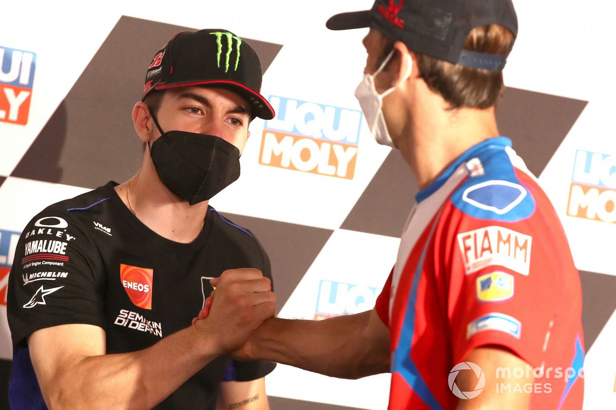 Maverick Viñales, Yamaha Factory Racing, Johann Zarco, Pramac Racing