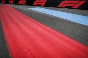 Gli striscioni della Formula1 a bordo pista