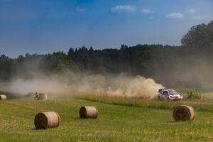 Elfyn Evans, Scott Martin, Toyota Gazoo Racing WRT Toyota Yaris WRC