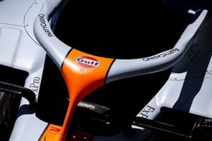 Halo on the McLaren MCL35M