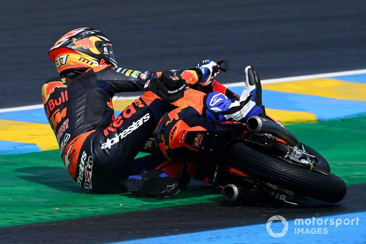 Caída de Pedro Acosta, Red Bull KTM Ajo