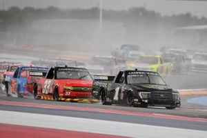 Hailie Deegan, Team DGR, Ford F-150 Monster Energy, Cameron Lawrence, Reaume Brothers Racing, Chevrolet Silverado Impact Health