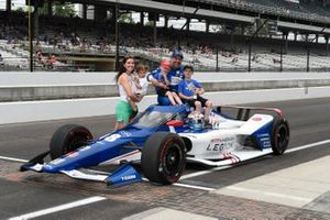 Tony Kanaan, Chip Ganassi Racing Honda, et sa famille