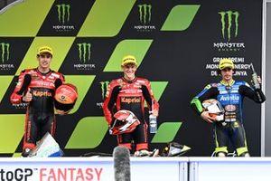 Gabriel Rodrigo, Team Gresini Moto3, Jeremy Alcoba, Team Gresini Moto3, Niccolo Antonelli, Reale Avintia Moto3