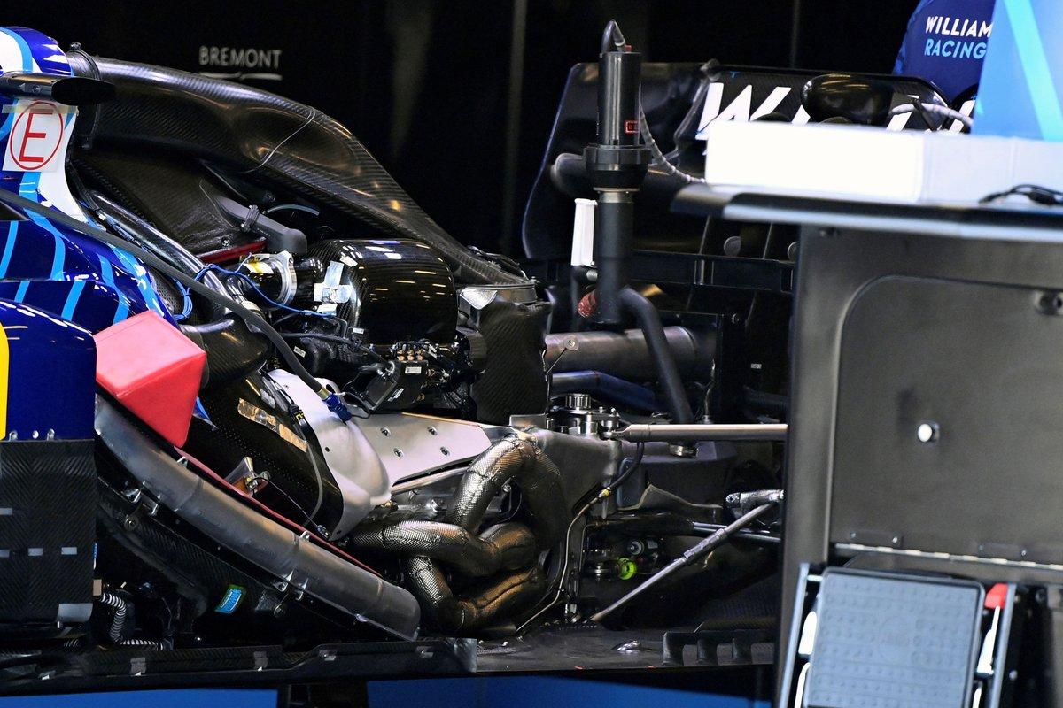 Detalle del Williams FW43B