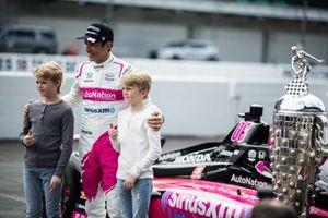 Indy-500-Sieger 2021: Helio Castroneves, Meyer Shank Racing Honda