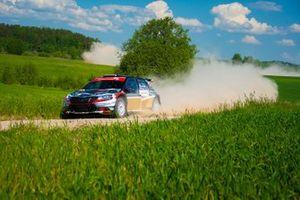 Adrian Chwietczuk, Jarosław Baran, Skoda Fabia Rally2 evo