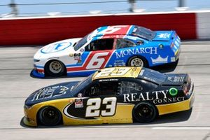 Ryan Vargas, JD Motorsports, Chevrolet Camaro Monarch Roofing Throwback and Tanner Berryhill, RSS Racing, Chevrolet Camaro REALTY CONNECT
