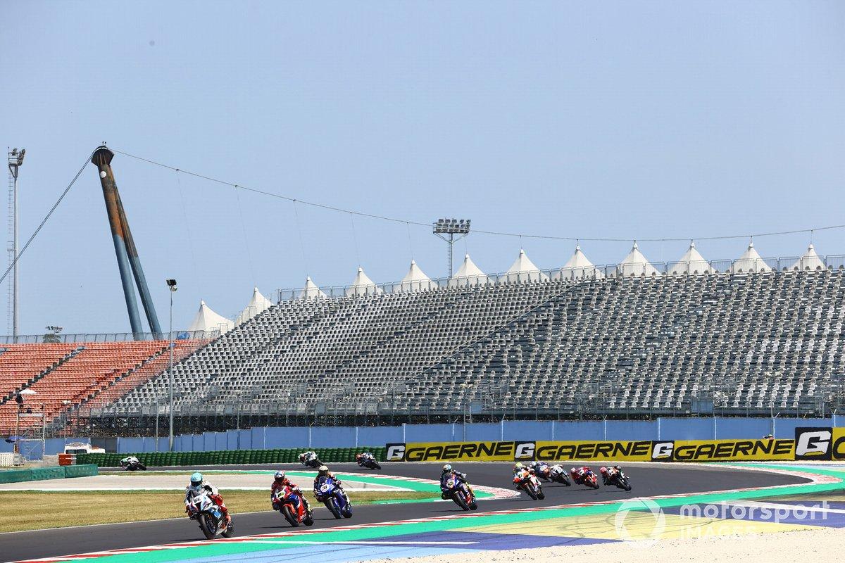Tom Sykes, BMW Motorrad WorldSBK Team, Alvaro Bautista, Team HRC, Garrett Gerloff, GRT Yamaha WorldSBK Team