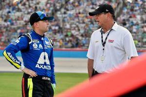 William Byron, Hendrick Motorsports, Chevrolet Camaro Axalta y Jeff Andrews