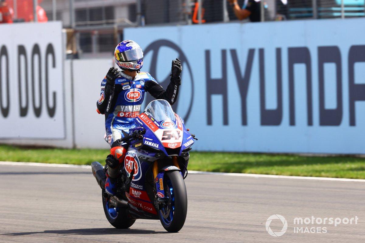 Toprak Razgatlioglu, PATA Yamaha WorldSBK Team finisce il carburante