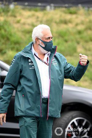 El propietario de Aston Martin F1, Lawrence Stroll