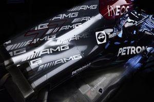 De auto van Valtteri Bottas, Mercedes W12