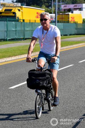 David Coulthard, Présentateur TV