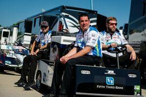 Graham Rahal, Rahal Letterman Lanigan Racing Honda crew members, Lon Lewis
