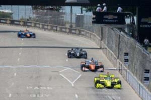 Team Penske, Chevrolet, Simon Pagenaud, Scott Dixon, Chip Ganassi Racing Honda, Sebastien Bourdais, A.J. Foyt Enterprises Chevrolet