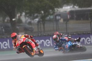 Marc Marquez, Repsol Honda Team, Alex Rins, Team Suzuki MotoGP crashes