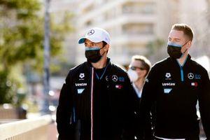 Nyck de Vries, Mercedes-Benz EQ, Stoffel Vandoorne, Mercedes-Benz EQ, walk the track