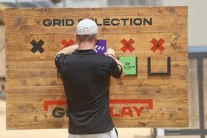 Sebastien Loeb, X44 at grid selection ceremony
