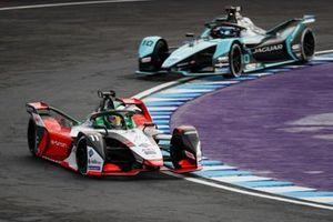 Lucas Di Grassi, Audi Sport ABT Schaeffler, Audi e-tron FE07, Sam Bird, Jaguar Racing, Jaguar I-TYPE 5