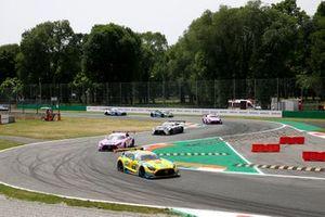 Start formation lap, Vincent Abril, Haupt Racing Team Mercedes AMG GT3