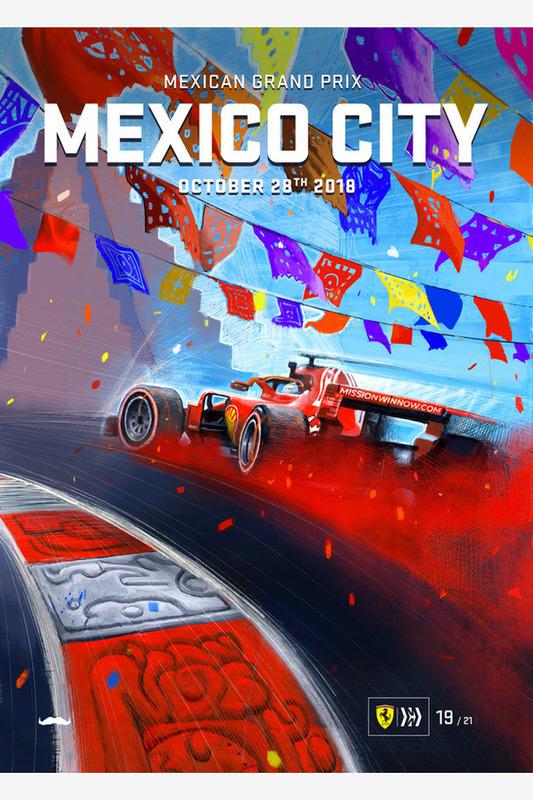 Постер Гран При Мексики