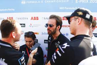 Jean-Eric Vergne, DS TECHEETAH, talks to the media