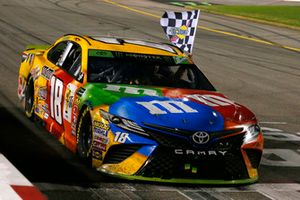 1. Kyle Busch, Joe Gibbs Racing Toyota Camry M&M's