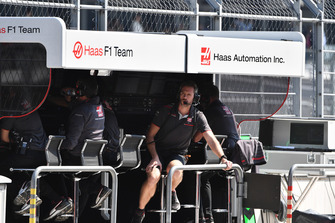 Командный мостик Haas F1