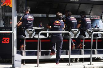 Командный мостик Red Bull Racing