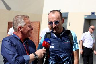 Johnny Herbert, Sky TV parle avec Robert Kubica, Williams